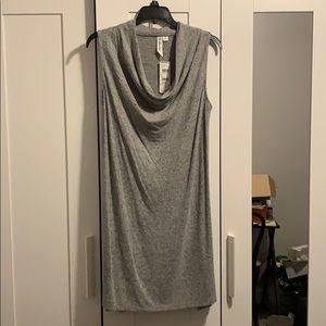 Others Follow Cowl-neck Midi Dress